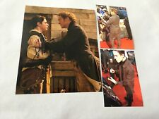 ROBERT DOWNEY JR. + HARRY COLLETT  'Dr. Dolittle' signed In-person Foto 20x25