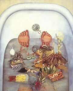 Print - What the Water Gave Me, 1938 by Frida Kahlo