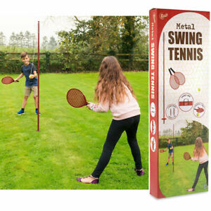 SWINGBALL TENNIS TETHER GAME OUTDOOR SUMMER GARDEN SWING BALL CLASSIC FAMILY NEW