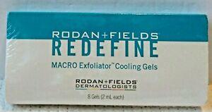 Rodan Fields Redefine Macro Exfoliator Cooling Gels Reduces Skin Redness Sealed