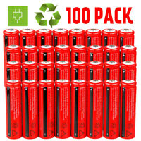 Lot 18650 3000mAh 3.7V Li-ion BRC Rechargeable Battery For Flashlight Torch USA