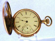 1904 ELGIN NATIONAL WATCH Co 6s GRADE 216 15 JEWEL POCKET WATCH FULL HUNTER CASE