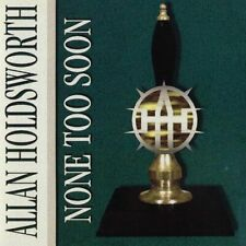 None Too Soon by Allan Holdsworth Audio CD Release 2018 Best SELLER