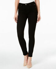 Calvin Klein Women's Black Night Sculpted Skinny Jeans W25 L32 NEW Retial $98