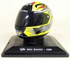 Altaya 1/5 Scale - Max Biaggi 1995 AGV Moto GP Helmet with Plinth and Case