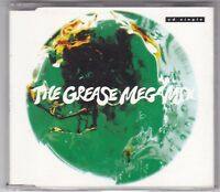 GREASE MEGAMIX - 3 TRACK MAXI CD SINGLE - JOHN TRAVOLTA/OLIVIA NEWTON-JOHN