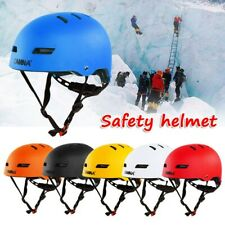 Outdoor Adjustable Safety Helmet Protection Gear for Work Climbing Cycling