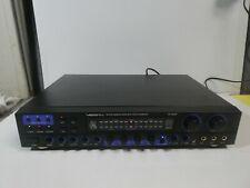 VocoPro Da-2808Ve Digital Karaoke Mixer with Vocal Enhancer Untested
