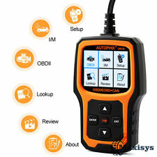OBD MATE OM126 OBDII Car Engine Light Check Code Reader I/M O2 Sensor Scanner