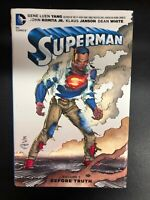 SUPERMAN volume 1 Before Truth (2016) DC Comics hardcover TPB 1st FINE-