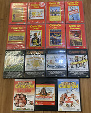 """Vintage """"Carry On ......"""" Comedy DVDs"""
