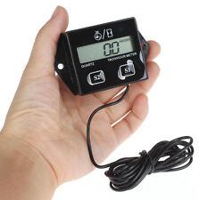 Digital Hour Meter Tachometer Tach LCD Honda Atv Motorcycle Generator Dirt Bike