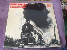 MAX COLLIE gospel train  33t lp dedicace (a7)