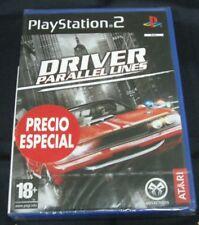 DRIVER PARALLEL LINES PS2 PRECINTADO NUEVO