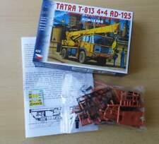 Tatra t-813 4x4 ad-125 gru mobile, colore: ROSSO ARANCIA - 1:87 KIT