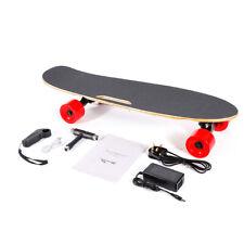 350W Elektrisches E-Skateboard Longboard w/ Remote Control 20km/h Rot Hotsale!