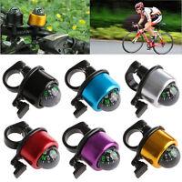 Bell Horns Metal Ring Alarm Handlebar For Cycling Bike Compass Ball Multicolour