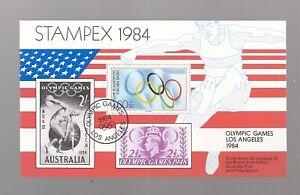 Souvenir Sheet/MNH/U.S./Stampex, Olympics/1984
