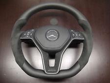 Mercedes G63 GL63 ML63 SL63 e350 e550 CLS550 flat bottom steering wheel thick