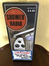 Vintage Shower Am/Fm Radio with Hook - Never Used