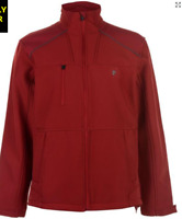 Pierre Cardin Textured Full Zip Jacket Red Uk Mens Size 2XL *1