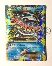 Pokemon Mega Glalie Ex 35/162 Ultra Rara Holo Italiano MINT