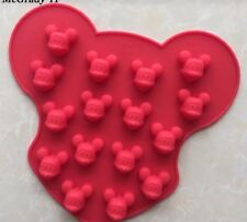 Mickey Mouse Disney Head Club House Mould Cake Gumpaste Silicone Mold Chocolate