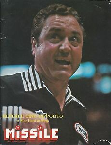 1981-82 Buffalo Stallions vs. Cleveland Force MISL Indoor Soccer Program #FWIL