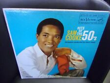 Sam Cooke Hits of The 50's LP RCA Records VG+