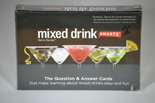New Nib Sealed Mixed Drink Smarts Game Question & Answer Cards, Tips & Recipes