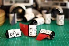 5x Kodak B&W 35mm diapositiva film. l'elaborazione standard, Nero e Bianco positivo