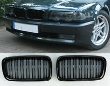 BMW 7 series E38 shiney gloss black front kidney grilles grille twin double slat