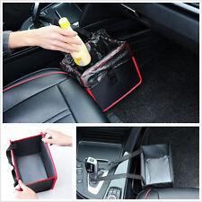 1x Car Trash Bag Can Litter Garbage LeakProof Bin Wastebasket Holder Storage Box