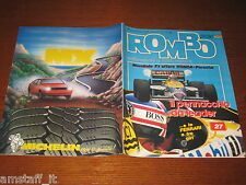 RIVISTA ROMBO 1986/28=NIGEL MANSELL GP F1 BRANDS HATCH=SUZUKI 500/750 R=