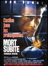 MORT SUBITE Affiche Cinéma / Poster Roulé JC VAN DAMME