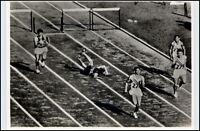 1956 Olympiade MELBOURNE Hürdenlauf Davies Sothern Culbreth Litujew Potgieter
