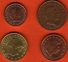 LOT PIÈCES EUROS 1 + 2 + 5 + 10 + 20 + 50 CENTS   LUXEMBOURG 2011 NEUVES