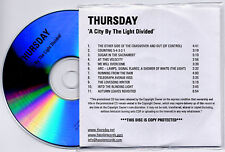 THURSDAY A City By The Light Divided UK 11-trk promo test CD