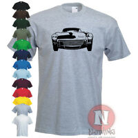 Triumph GT6 MK2 classic British sports car t-shirt