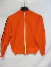 Veste sport vintage orange années 70 tracktop jacket oldschool giacca 156  XXS 0b823db77dc