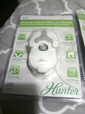 Hunter Fan 99122 Universal Replacement Ceiling Fan Remote Control with Receiver