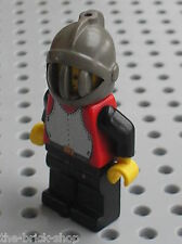 Minifig personnage LEGO CHATEAU CASTLE Chevalier 973p40 / set 6080 ...