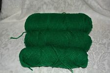 Southern Belle Mill End Yarn 15 oz  Green 3-4 Ply Acrylic Color per Photo