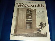 Woodsmith Magazine N67 February 1990 Armoire