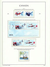 CANADA 2006  LIGHTHOUSE page 2006.6  OLYMPICS & SNOWBIRDS etc - M/sheet etc  MNH