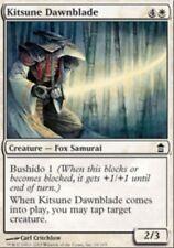 4x MTG: Kitsune Dawnblade - White Common - Saviors of Kamigawa - SOK
