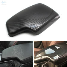 For BMW 3 Series F30 13-18 Carbon Fiber Texture Center Console Armrest Pad Cover