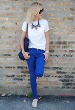 Collar Mujer Cristal Azul Multicolor Estilo Moderno Noche Matrimonio Bonito