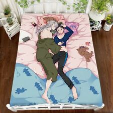 Cartoon Bed Decoration Victor Nikiforov Plush Sheet Anime YURI!!! On Ice Cosplay