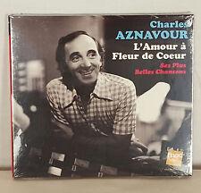 Charles  Aznavour L'Amour a Fleur de Coeur 2012 Lolita Records Music CD
